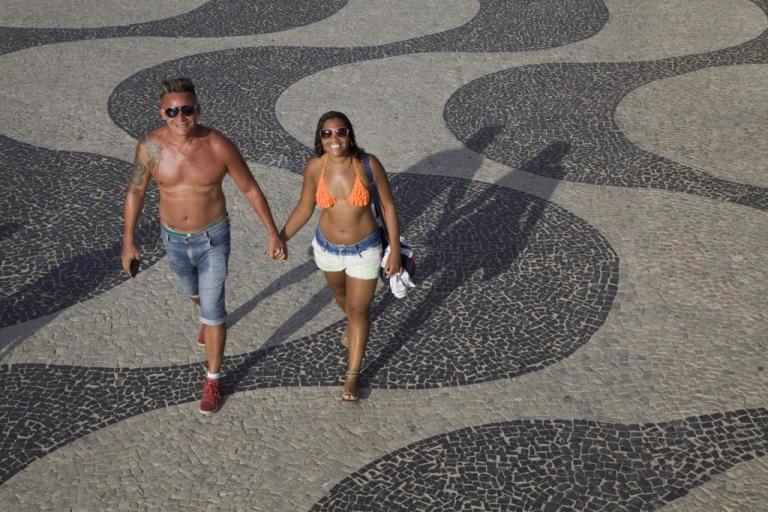 Braslien Rio de Janeiro Zuckerhut Braslien Copacabana Beach