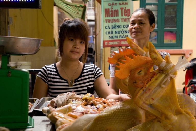 Hanoi Street Food Vietnam