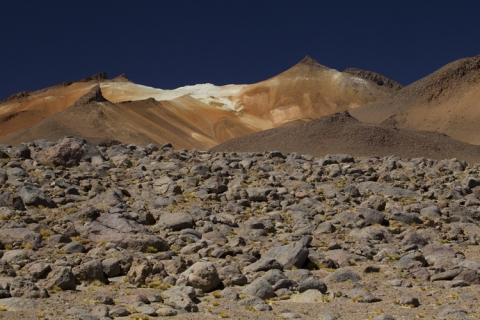 Bolivien Altiplano Anden Uyuni Salt Lake La Paz