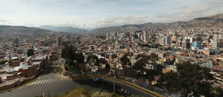 Bolivien Altiplano Anden Uyuni Salt Lake La Paz Lama Killi Killi