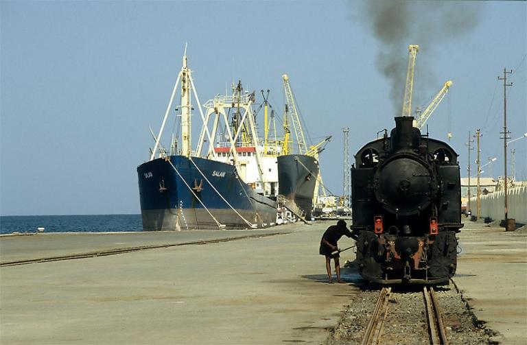 Afrika Eritrea Eisenbahn Asmara Massawa Sonderfahrt Dampflok Äthiopien