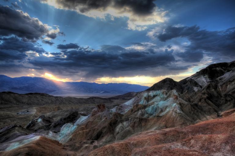 USA South West Südwest Artist´s Palette Death Valley Destert