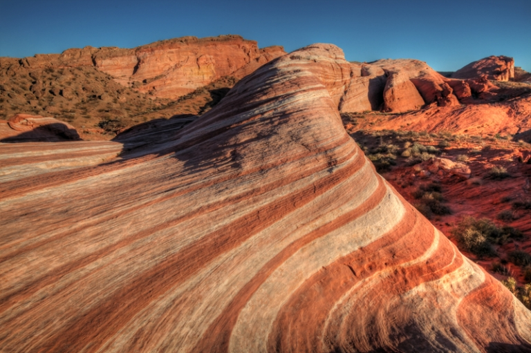 USA South West Südwest Wave Valley of Fire