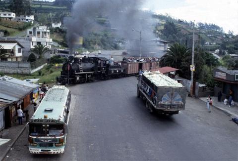 Südamerika Anden Ecuador Dampflok Baldwin Teufelsnase Quito Riobamba Duran