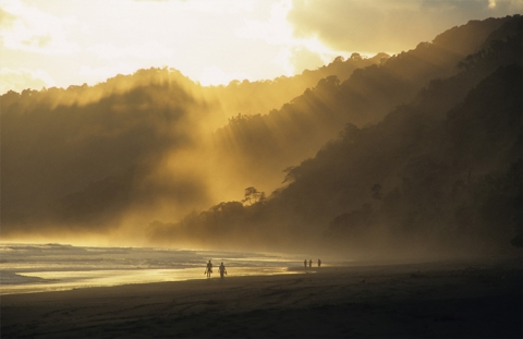Südamerika Costa Rica Corcovado Nationalpark Samara Vulkan Arenal San José