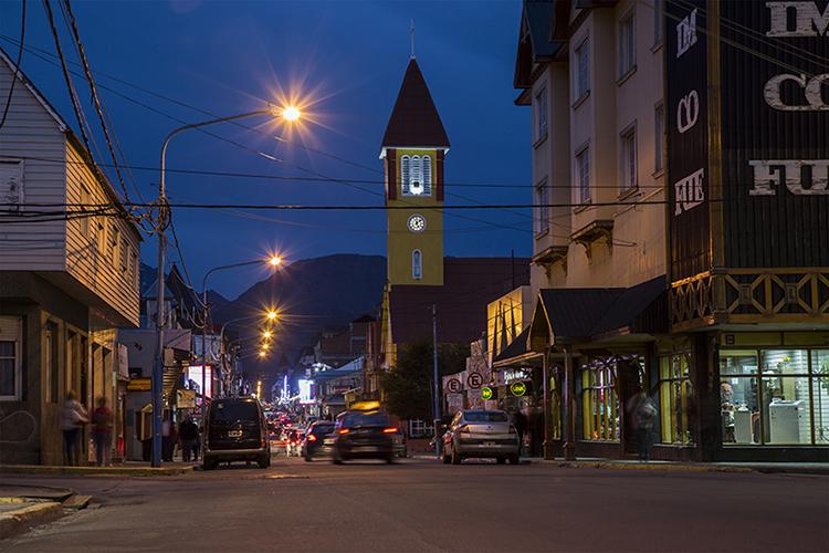 Ushuaia – Calle San Martin - Argentina