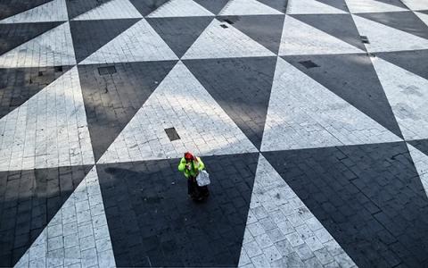 Sergels torg Platz - Stockholm -Schweden