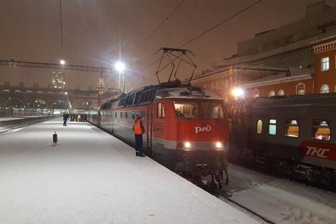 Transsibirische Eisenbahn Reise Russland
