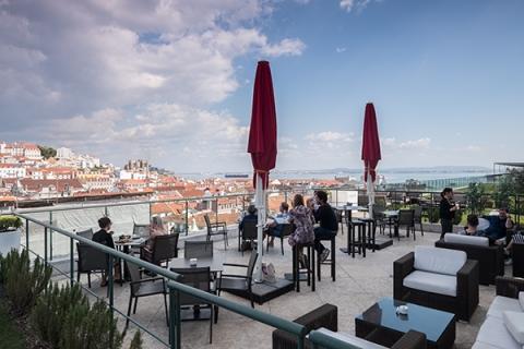 Lisboa Lissabon Chiado Rooftop