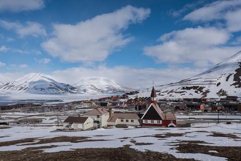 Longyearbean Arktis Spitzbergen