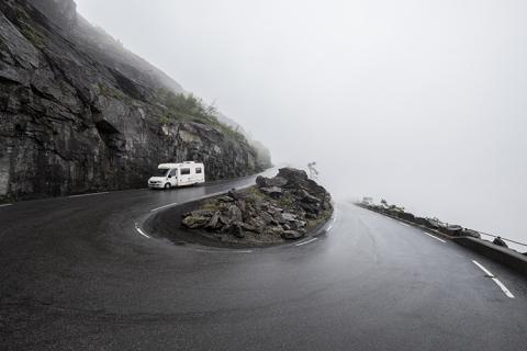 Norwegen Trollstigen Camping
