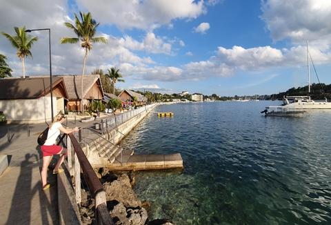 Vanuatu Port Vila seaside