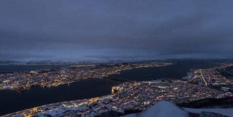 Storsteinen Tromso Panorama