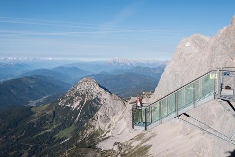 Treppe Nichts Dachstein