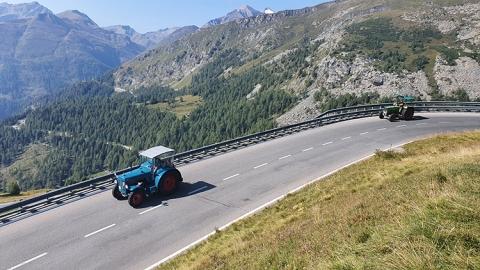 Alpen Großglockner Pass