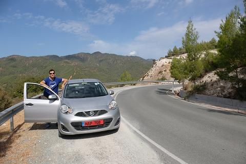 Mietwagen Zypern Trodos