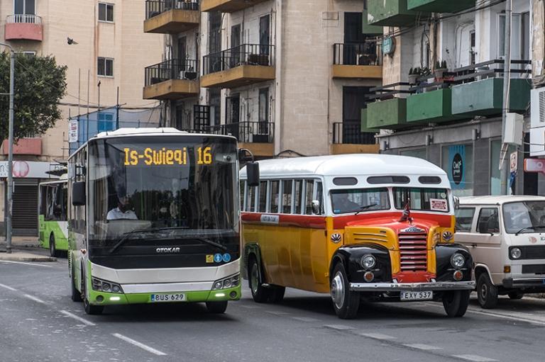 Valletta Busse Verkehr