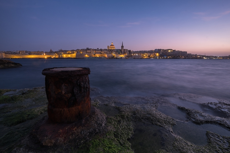 Malta Valletta sunset