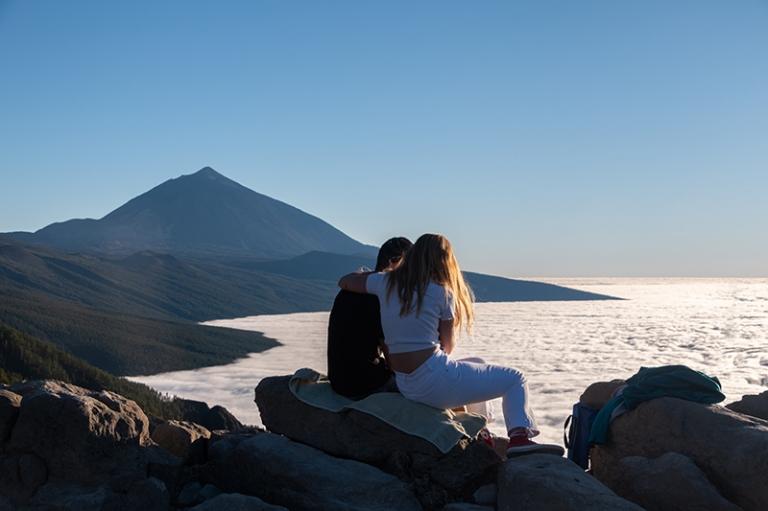 Mirador Sonnenuntergang Teide